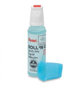 Cola Líquida Transparente Roll'n Glue Pentel