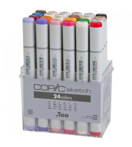 Caneta Copic Marker Sketch 24 Cores