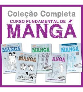 Curso Fundamental de Manga Coleção - Arthur Garcia