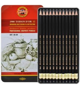 Estojo Lápis Para Desenho Toison D'or 1902