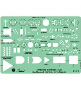 Gabarito de Eletrônica Trident Eletricidade E25