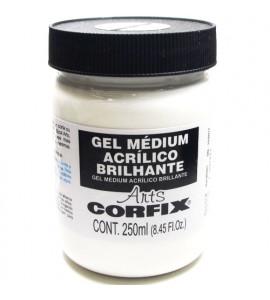 Gel Médium Acrílico Brilhante Corfix Arts 250ml