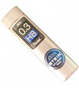 Grafite Pentel AIN STEIN 0.3mm HB
