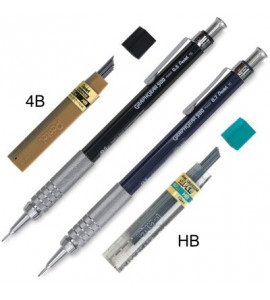 Kit Lapiseira Pentel GraphGear 0.5mm e 0.7mm