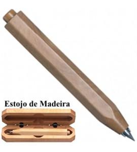Lapiseira em Madeira  Tom Médio 3.15mm Worther EM