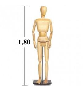 Boneco  Tamanho Real 1,80m Adulto Masculino