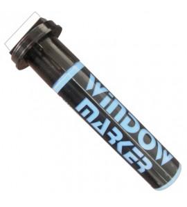 Caneta para escrever em vidro Window Marker Azul Ponta 3cm