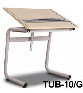 Mesa Para Desenho com Régua Paralela Tub 10/G PA-100 Trident