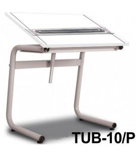 Mesa Para Desenho com Régua Paralela Tub 10/ P BP-80 Trident