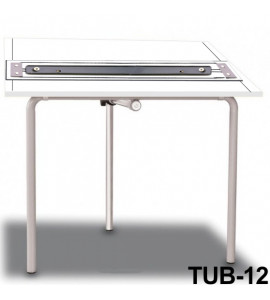 Mesa Para Desenho com Régua Paralela Tub 12 BP-100 Trident