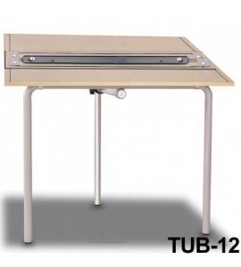 Mesa Para Desenho com Régua Paralela Tub 12 PA-100 Trident