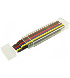 Grafite Koh-I-Noor 3.2mm Colorida 2x6 Cores