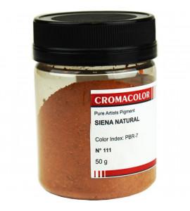 Pigmento Artístico Cromacolor Puro 111 Siena Natural 50g