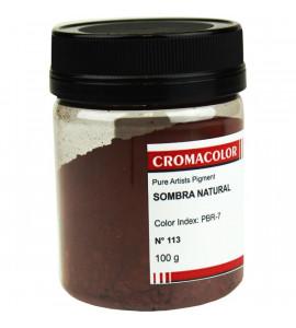 Pigmento Artístico Cromacolor Puro 113 Sombra Natural 100g