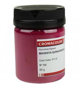 Pigmento Artístico Cromacolor Puro 122 Magenta Quinacridona 50g