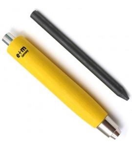 Portaminas Workman 5.6mm E+M Germany Amarelo