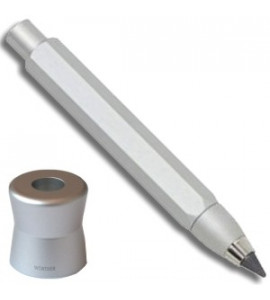 Lapiseira Portaminas Worther Compact Prata 5.6mm