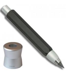 Lapiseira Portaminas Worther Compact Preto 5.6mm