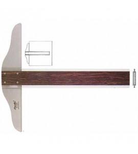 Régua T Fenólica Trident 5505 50cm