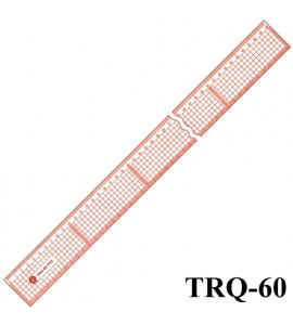 Régua Para Corte e Costura Trident TRQ-60
