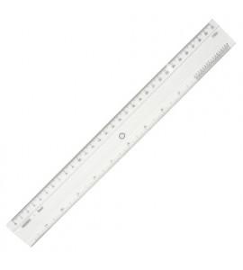 Régua de Acrílico 40cm Trident 7340