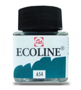 Tinta Ecoline Talens 30ml 654 Fir Green