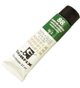 Tinta a Óleo Corfix 37ml 088 Verde de Hooker G2