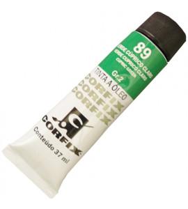 Tinta a Óleo Corfix 37ml 089 Verde Cúprico Claro G2
