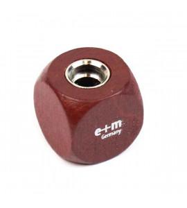 Apontador de Lápis Para Minas E+M Germany Dado Marrom 5.6mm