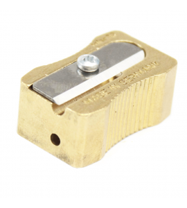 Apontador de Lápis Para Mina 2.0mm e 3.2mm Metal Clássico 0614