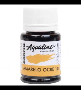 Aqualine Aquarela Líquida Corfix 10 Amarelo Ocre 37ml