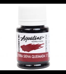 Aqualine Aquarela Líquida Corfix 17 Terra de Siena Queimada 37ml