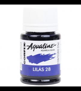 Aqualine Aquarela Líquida Corfix 28 Lilás 37ml