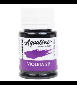 Aqualine Aquarela Líquida Corfix 29 Violeta 37ml