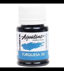 Aqualine Aquarela Líquida Corfix 30 Turqueza 37ml
