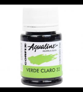 Aqualine Aquarela Líquida Corfix 32 Verde Claro 37ml