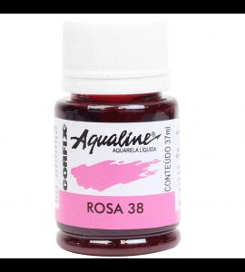 Aqualine Aquarela Líquida Corfix 38 Rosa 37ml