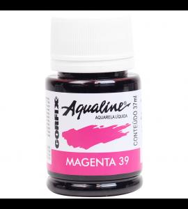 Aqualine Aquarela Líquida Corfix 39 Magenta 37ml