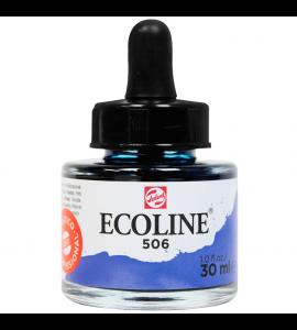 Tinta Ecoline Talens 30ml 506 Ultramarine Deep