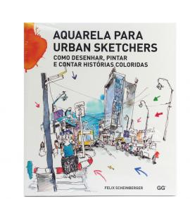 Livro Aquarela Para Urban Sketchers Como Desenhar, Pintar e Cont