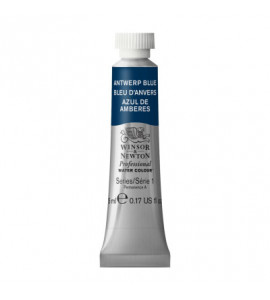 Tinta Aquarela Profissional Winsor & Newton Tubo 5ml S1 010 Antwerp Blue