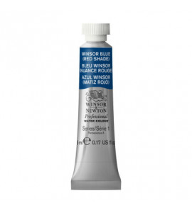 Tinta Aquarela Profissional Winsor & Newton Tubo 5ml S1 709 Winsor Blue (Red Shade)