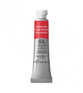 Tinta Aquarela Profissional Winsor & Newton Tubo 5ml S1 726 Winsor Red