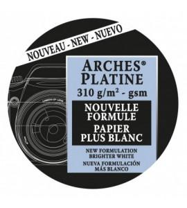 Papel de Impressão Arches Platine 145g/m² 56x76cm 100% Algodão