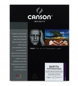 Papel Impressão Photographique Baryta 310g/m² A3+ 25 Folhas