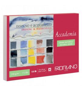 Bloco Fabriano Accademia 100 folhas 240g/m² 27X35cm