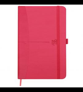 Caderneta Oxford Signature Pautada A6 Vermelho