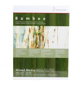 Bloco Hahnemühle Para Aquarela Bamboo 30x40cm