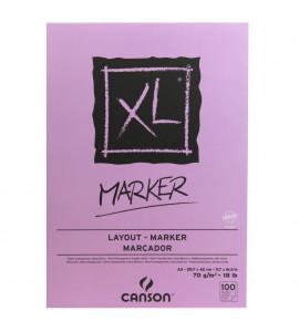 Bloco Canson Para Marcadores Marquer XL A3 70g/m²