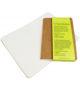 Bloco Papel Sketchbook 2x Travel Booklets Hahnemuhle A6